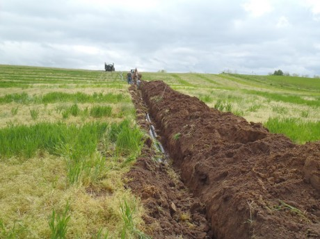 Example of an Agricultural drainage project